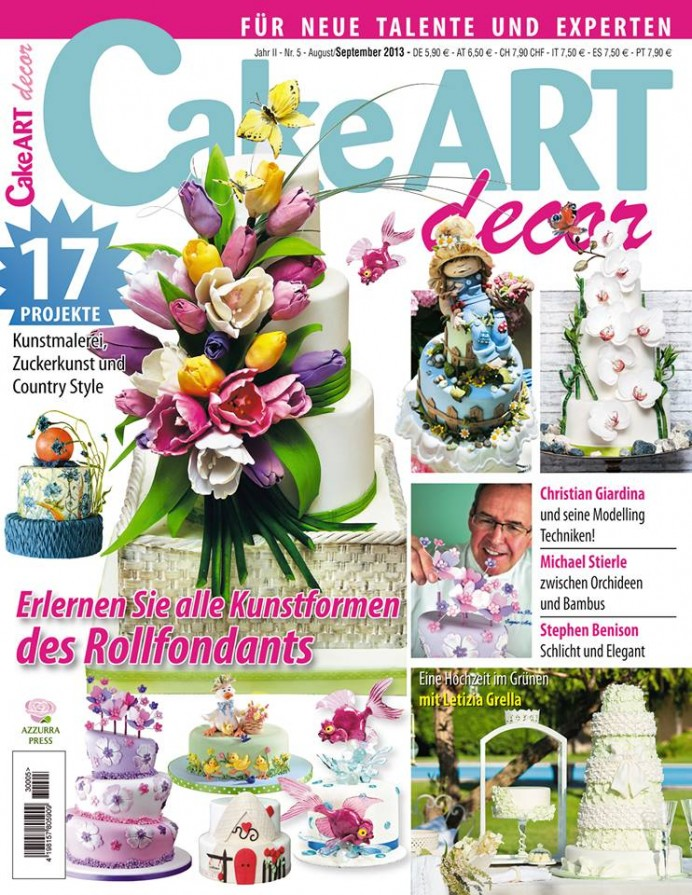Cake Art Decor n. 5 - agosto/settembre 2013